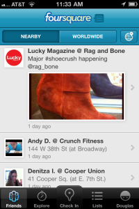 foursquare lucky magazine